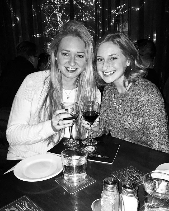 Cheers to fate, friendship, & the holidays
