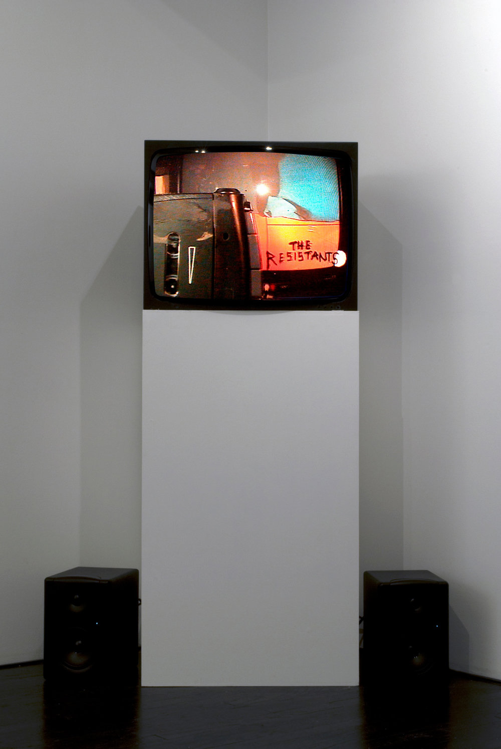The TV Show.  Installation view. On Stellar Rays, New York, NY. 2009.
