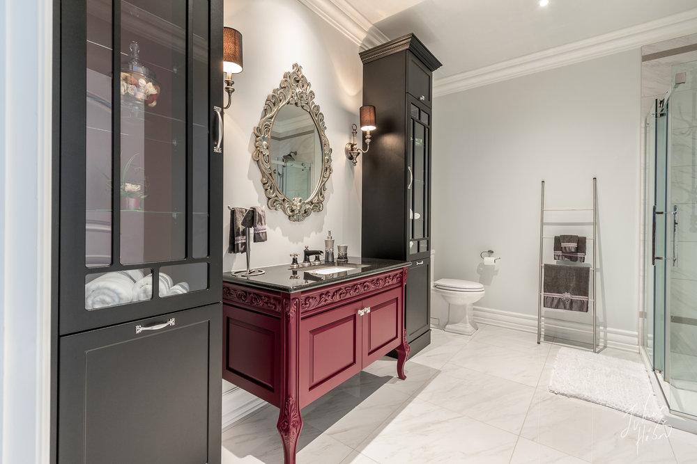 Salle de bain, Design Intérieur, Photographe Design Intérieur Québec