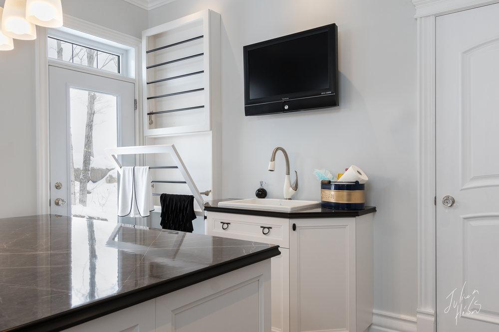 Salle de lavage, Design Intérieur, Photographe Design Intérieur Québec
