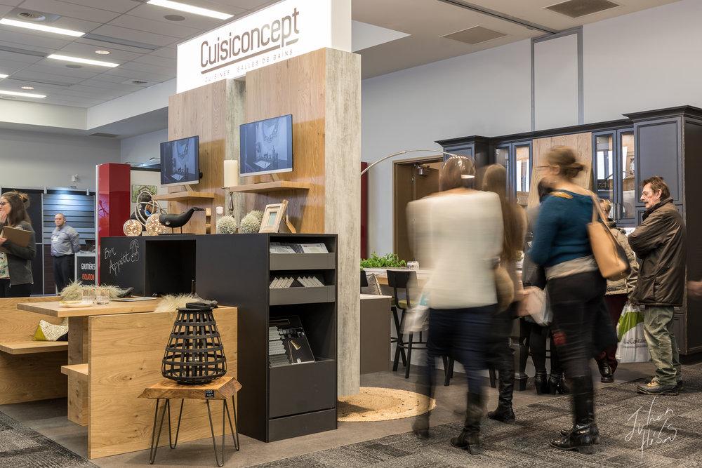 Kiosque Cuisiconcept - Cuisines et Salles de Bains