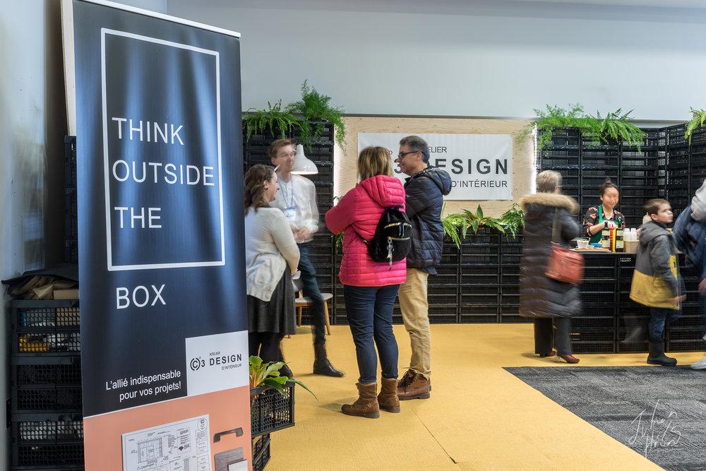 Kiosque C3 Design d'intérieur