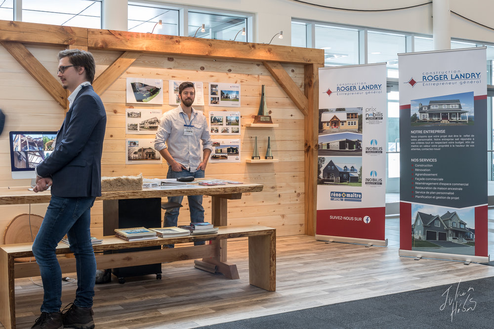 Kiosque Construction Roger Landry - Entrepreneur Général