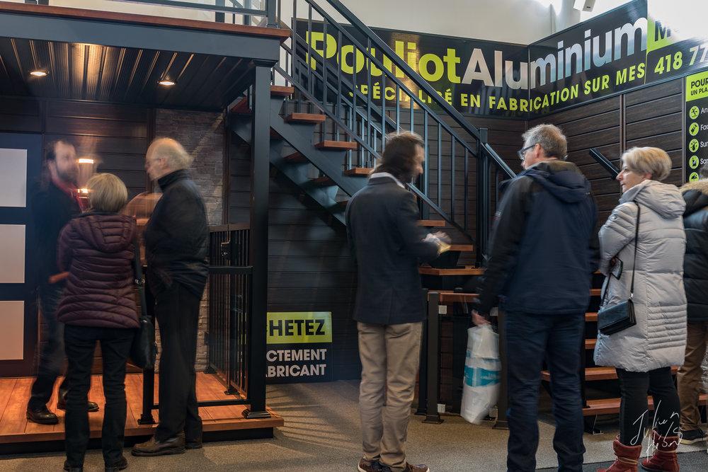 Kiosque Pouliot Aluminium