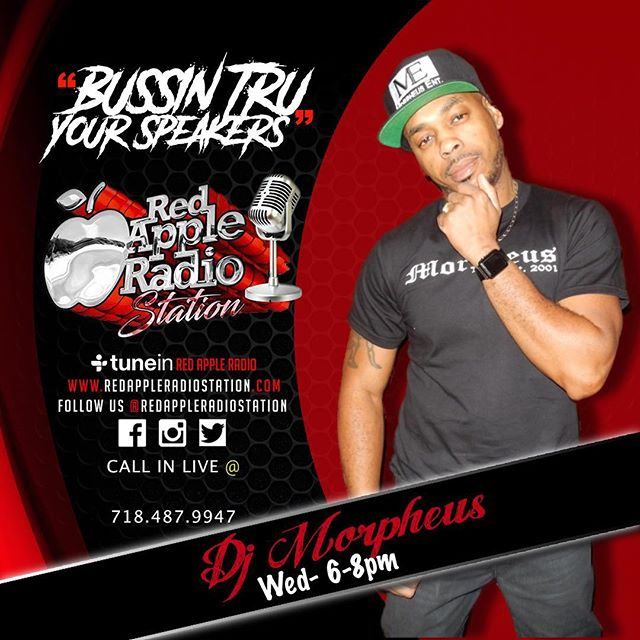 Catch me live inside the Wotless Radio show every Wednesday from 6 to 8 playing all your favorite Caribbean hits you know it's all about energy, Vybz and music catch me also on the Facebook live stream see how I do what I do inside the studio live video on @redappleradiostation @islandstarradio www.morpheustnt.com and Facebooklive #djmorpheusent #me.  Also call in live to request your favorite jams shout your crew and where your from @718-487-9947
