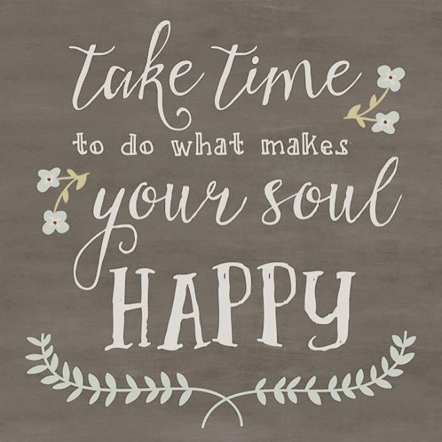 This is my motto these days!! Life is also so frantic and there never seems to be enough hours in the day.  Doing the same thing day after day is no way of living, take time out of your day for yourself!