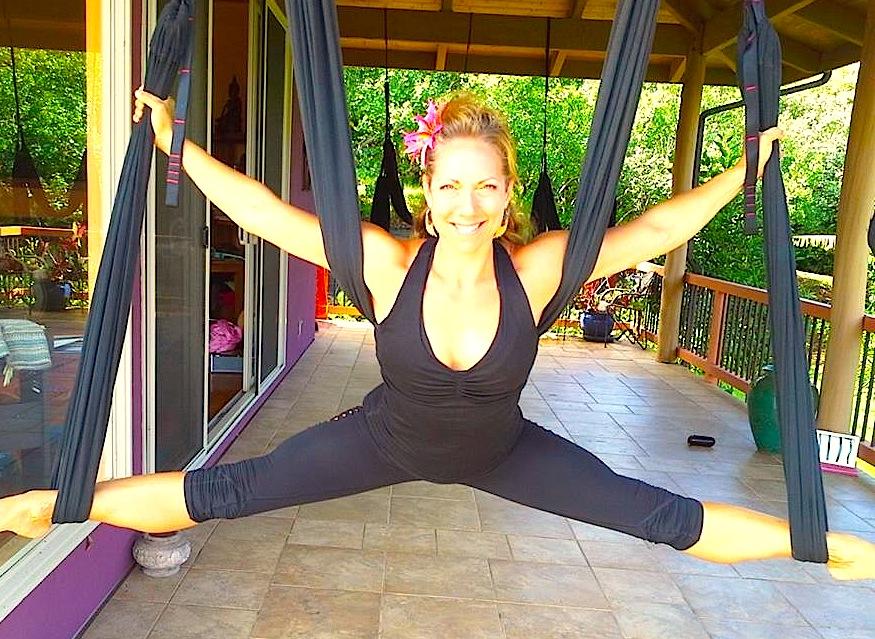 jen healy, aerial yoga play, aerial yoga teacher training