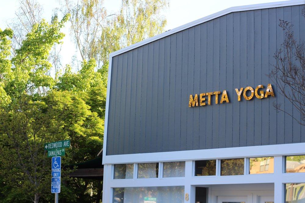 metta yoga marin, best yoga studio marin county