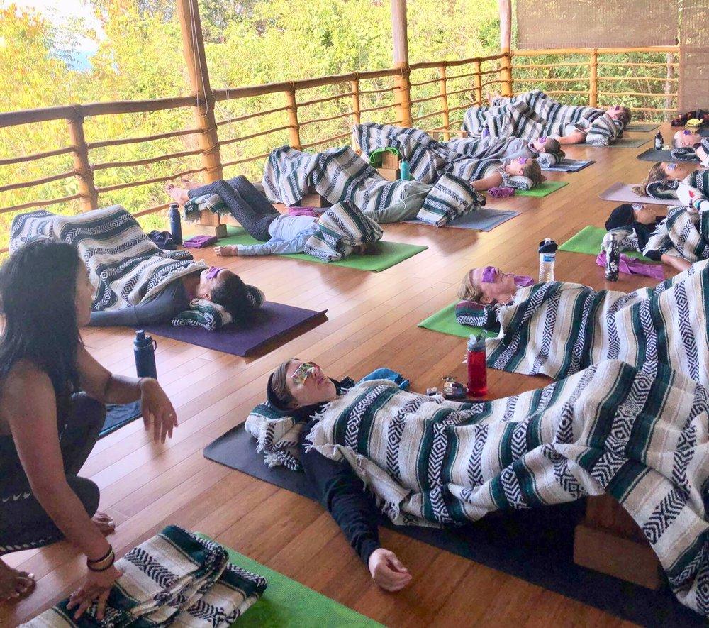 restorative yoga, charisse balance, balanced physioyog, yoga workshop, yin yoga