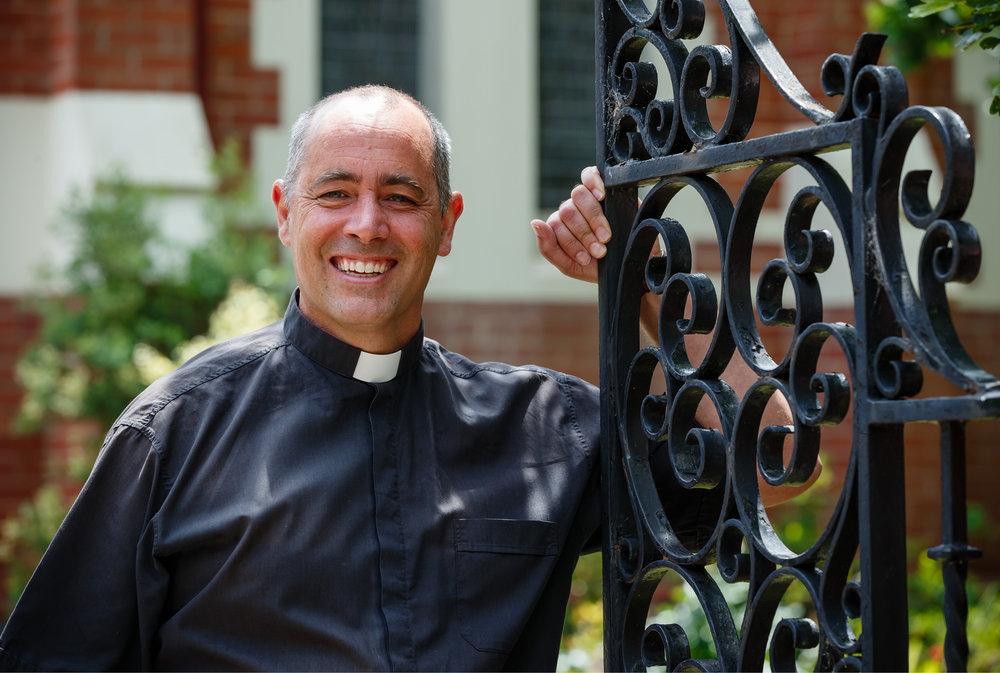 The Vicar, Jonathan Chamberlain