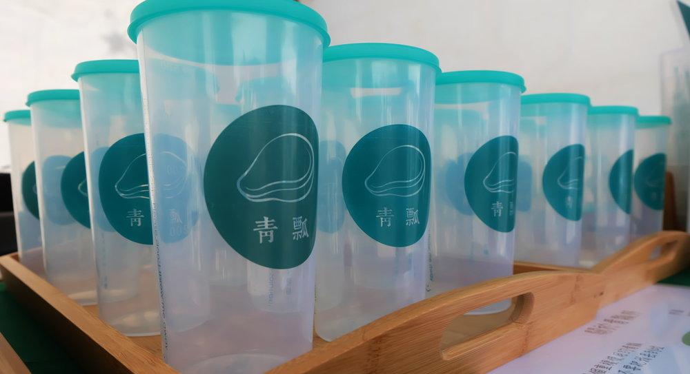 社企流/別再說回收就好!「青瓢」推環保杯租賃服務,省下的免洗杯可堆成 12座101大樓