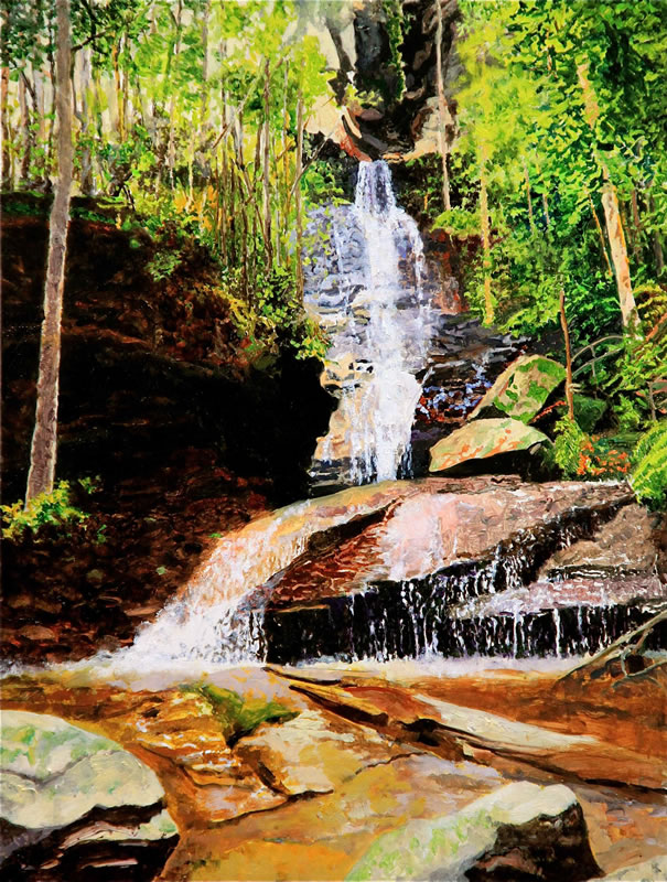 Empress Falls, Blue Mountains, NSW