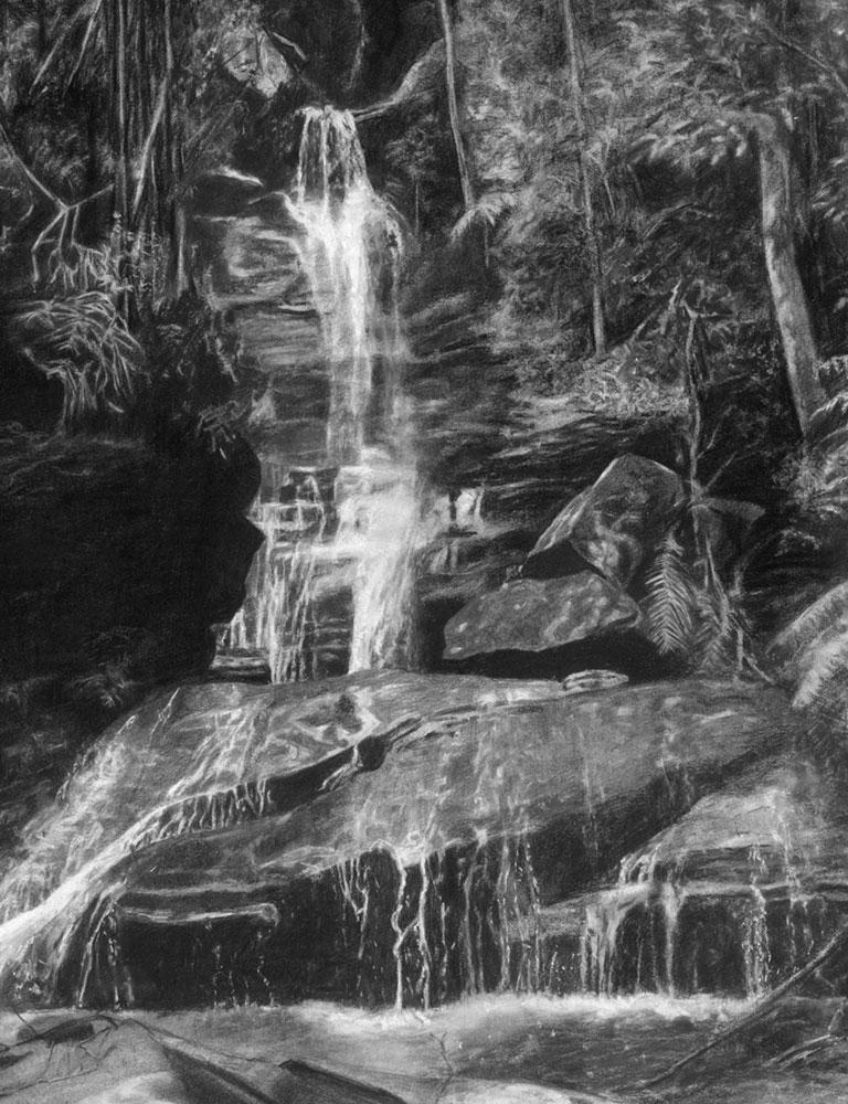 Empress Falls (detail)