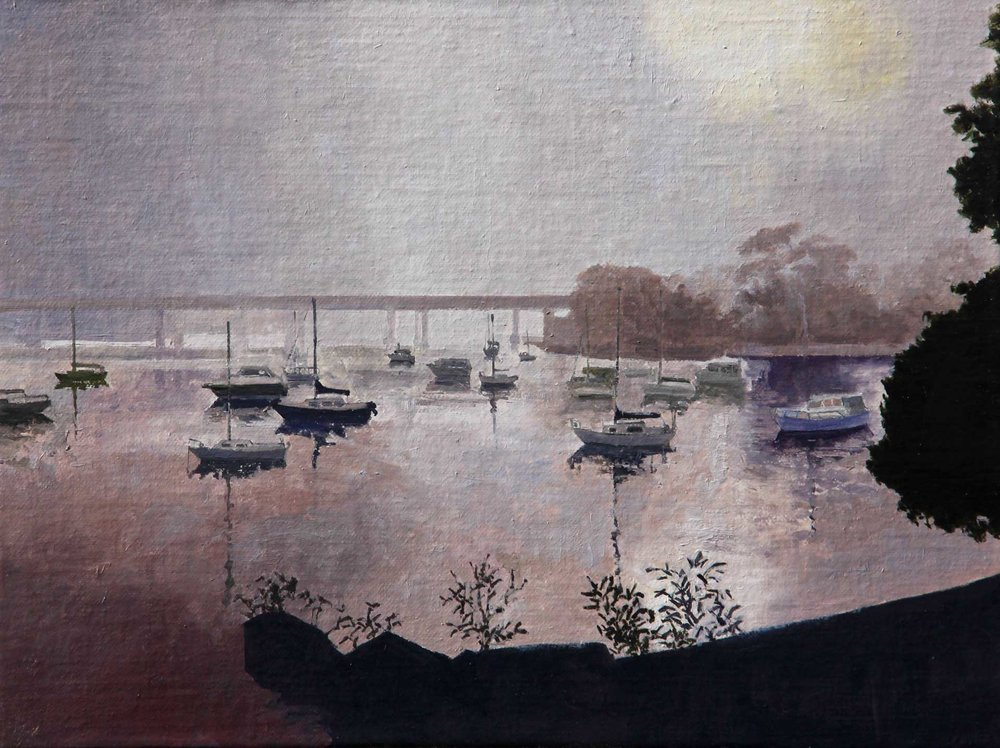 Misty Morning, Georges Bay