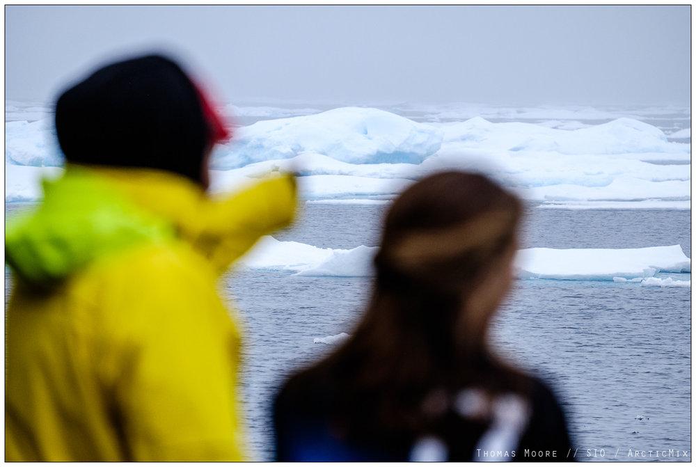 Ocean heat and Arctic Ice