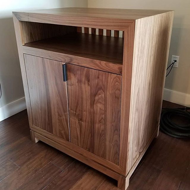 #customfurniture #walnut #alder #media #credenza #sidetable @theharshbarger