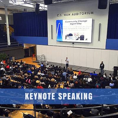 Drew Schwartz Keynote Speaking For Educators and Organizations.