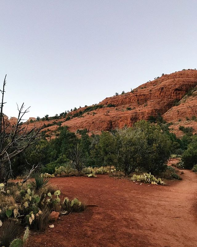Red dirt, red rocks. Sedona, you truly are a magical place.