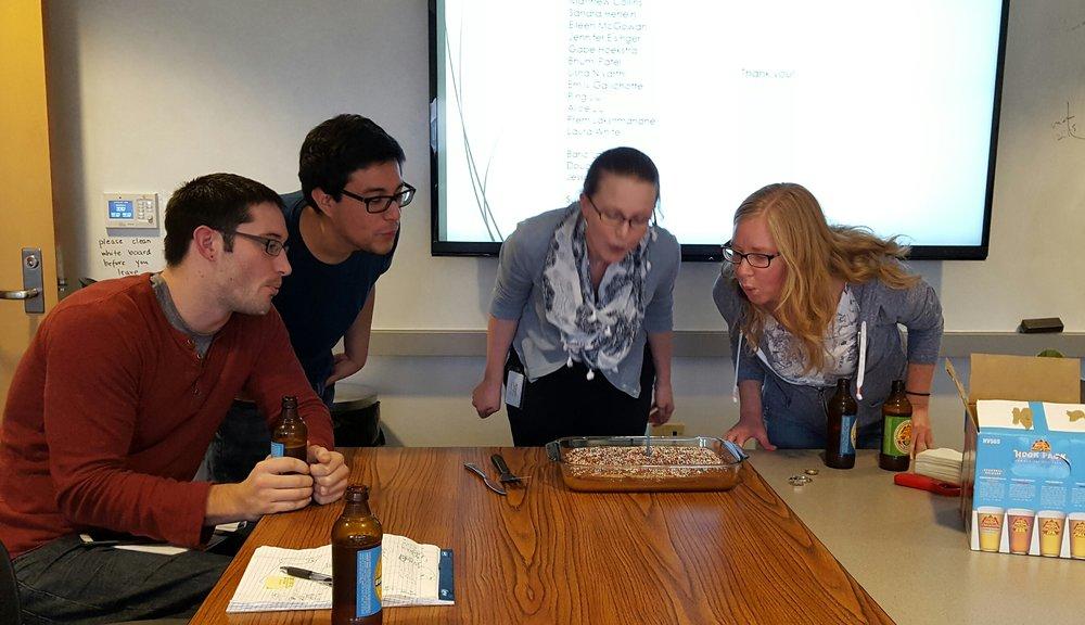 Happy birthday, Lazear lab!