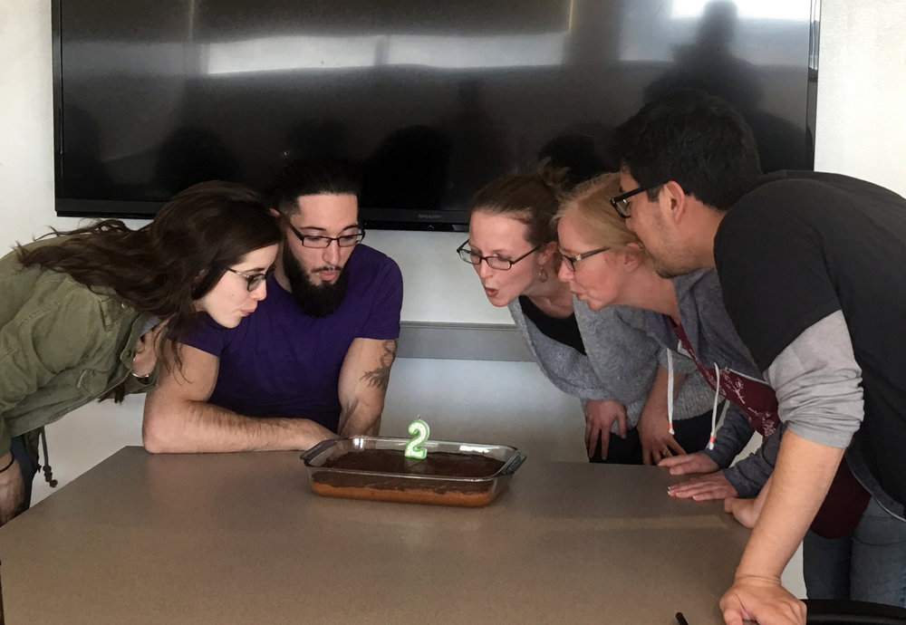 happy 2nd birthday lazear lab! (Nov 2017)