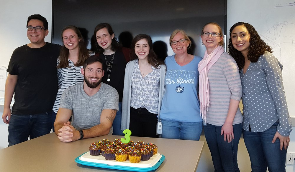 Happy 3rd birthday lazear lab! (Nov 2018)