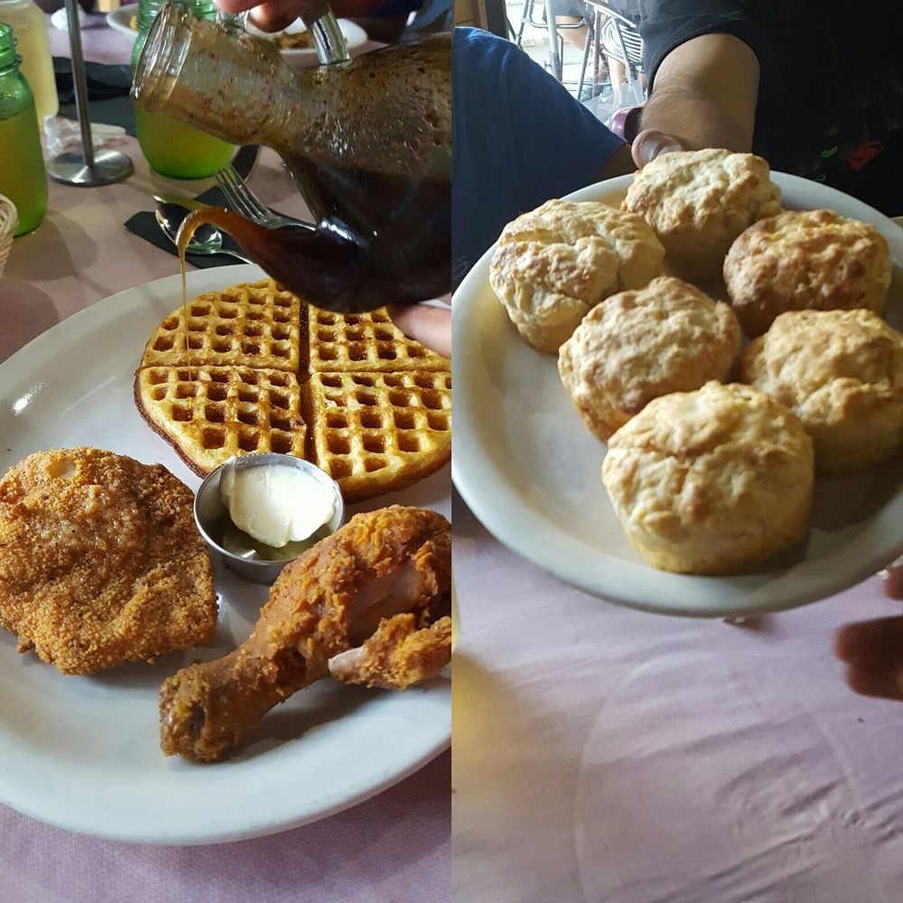 Chicken and Waffles and Biscuits.jpg