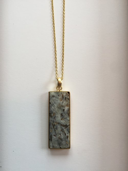 Astropholite rectangular pendant necklace zoko jewlery astropholite rectangular pendant necklace aloadofball Gallery