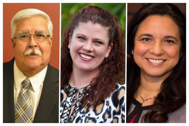 Norwalk voters overwhelming voted for (left to right) Tony Ayala, Jennifer Perez, and Margarita Rios to take seats on the city council.
