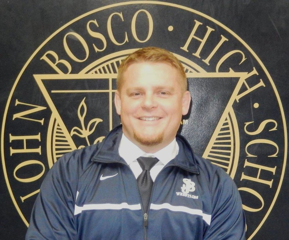 Jeffrey Anderson wrestled for St. John Bosco, graduating in 1998.