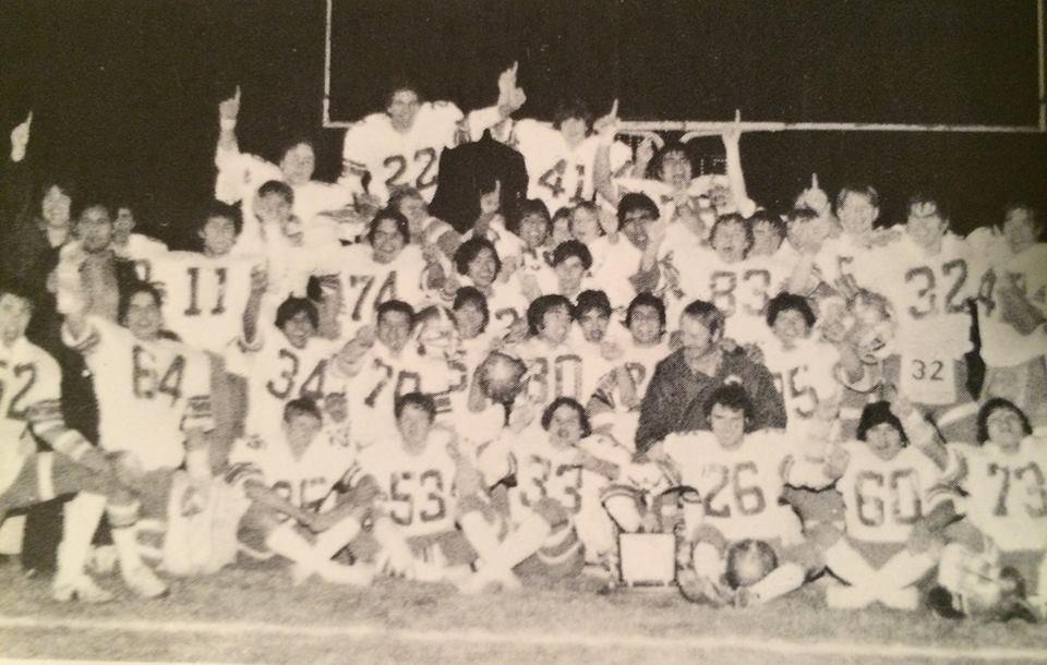 Norwalk High's championship-winning 1977 team.