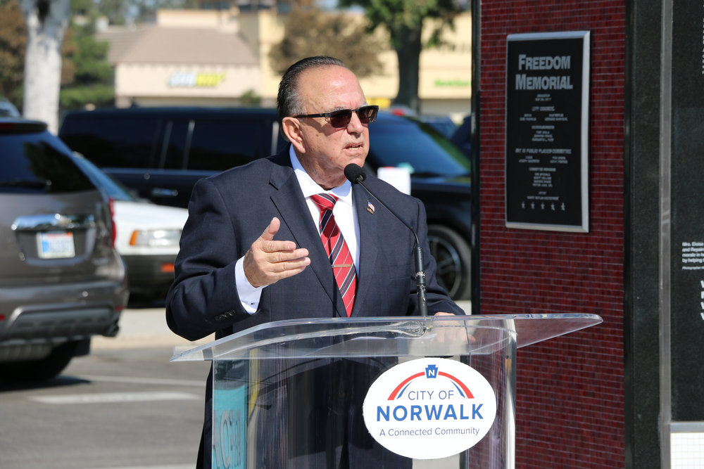 Mayor Luigi Vernola claims he opposes a homeless shelter at its proposed location in Norwalk. City of Norwalk photo