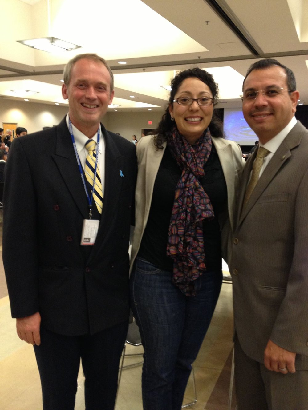 John Paul Drayer, Assemblymember Cristina Garcia and state Sen. Tony Mendoza.