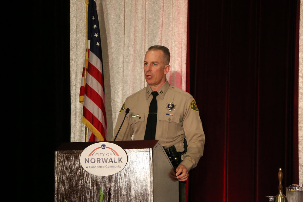 Violent crime is on the decline in Norwalk, officials said at the State of the City address last week. Photo courtesy City of Norwalk