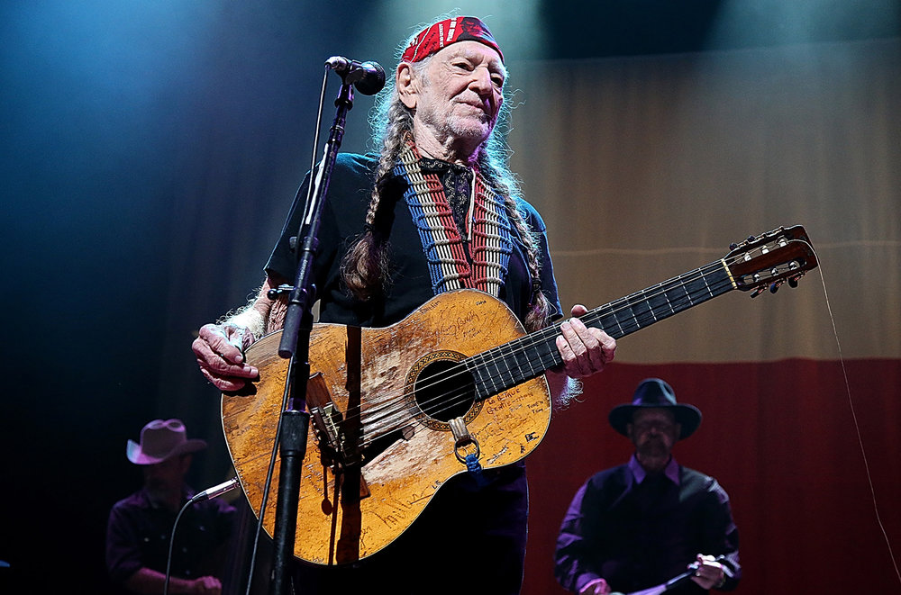Willie Nelson performs at the OC Fair on Aug. 9.