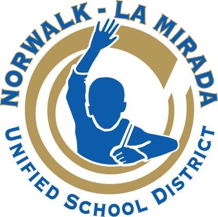 Norwalk-La Mirada's current logo.