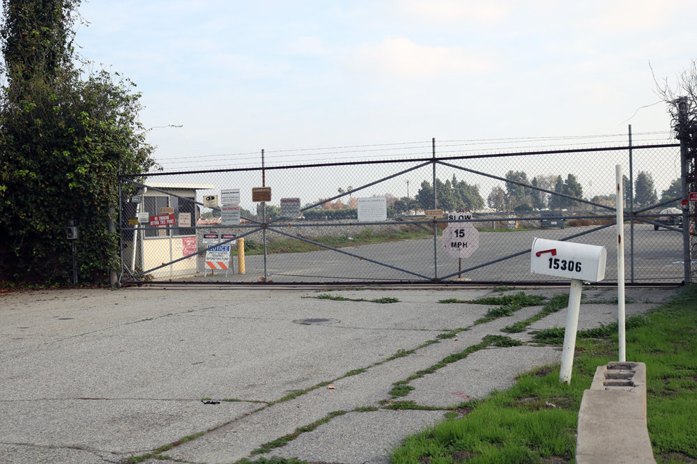 "Norwalk officials hope to purchase land near Holifield Park, known locally as the ""tank farm,"" for redevelopment.  Photo by Alex Dominguez"