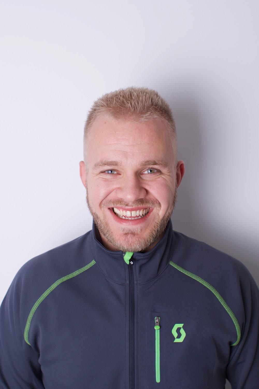 Andreas Knutsen  Servicetekniker Polaris og fritidsmaskiner