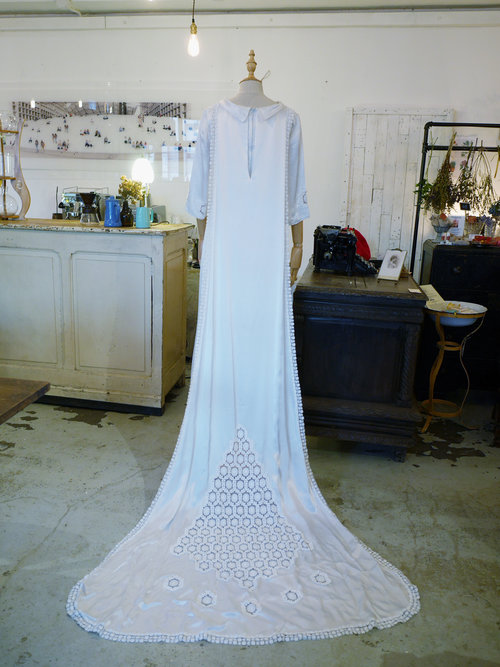 05 French Antique Wedding gown — Silly Symphony