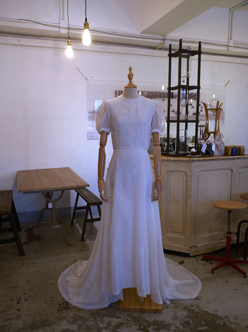08 French Antique Wedding gown — Silly Symphony