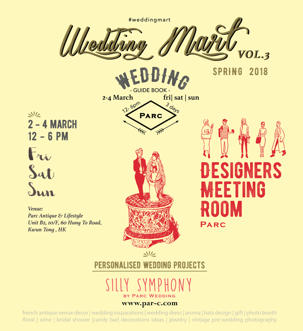 Personalised Wedding Projects Event - 2-4 March ( Fri to Sun) 元宵節The Wedding Select Shop