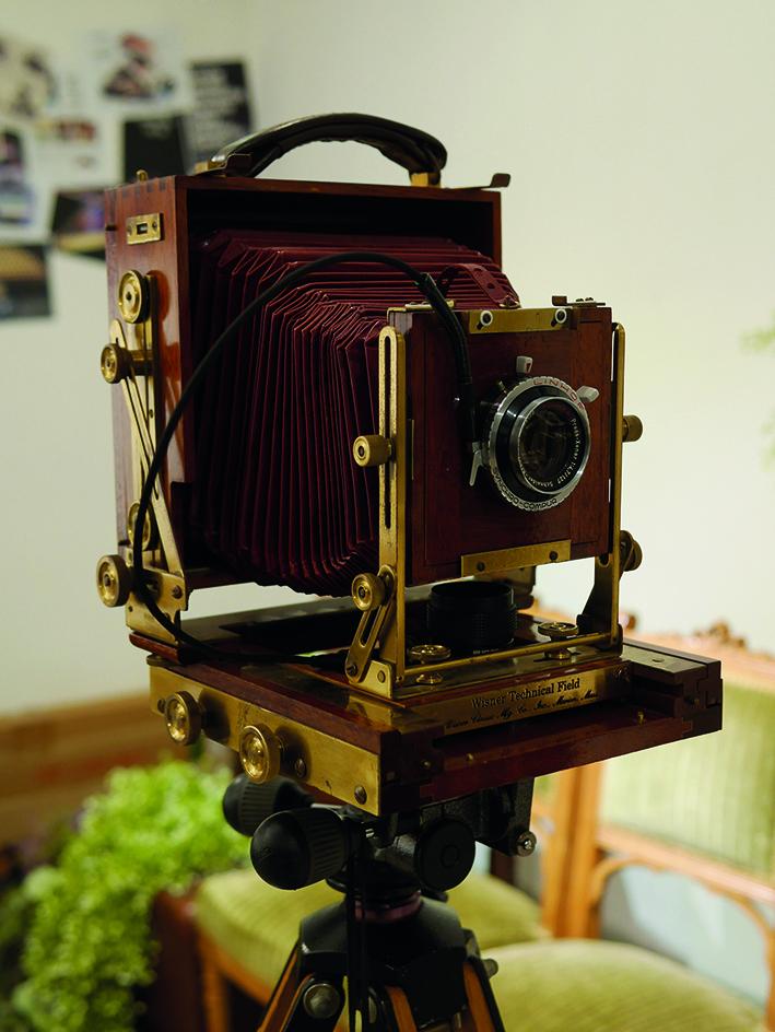 Old camera in 1960's