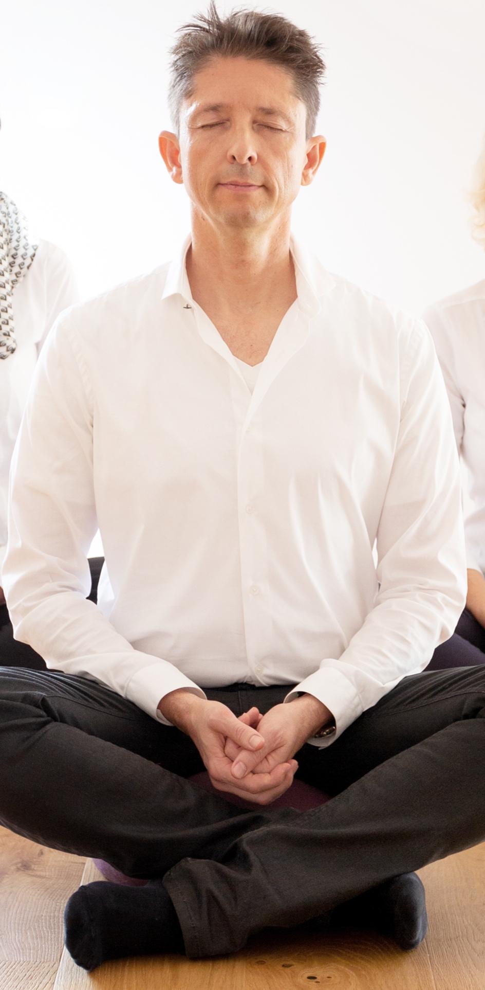 P.A. Straubinger - Meditationstrainer mit zwei Jahrzehnten Erfahrung