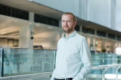 Dr. James MacRae from the Francis Crick Institute (photograph courtesy of the Francis Crick Institute/Dave Guttridge)