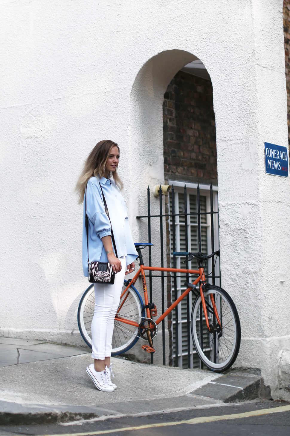 Laura Hayden wearing MARINA London