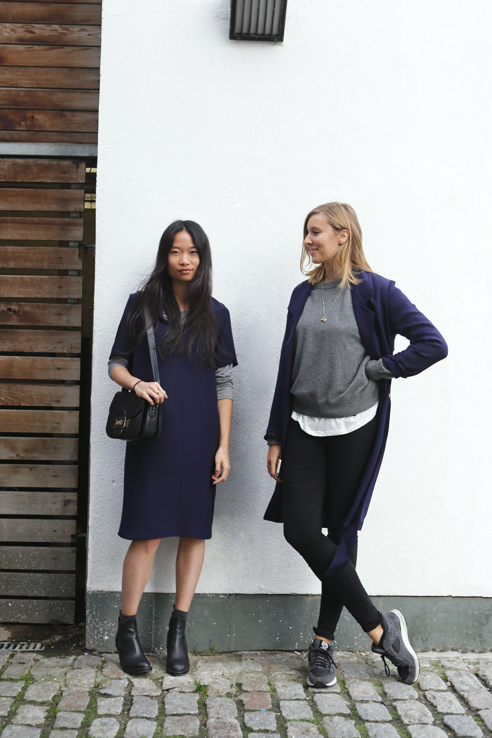 The Pressery girls wearing MARINA London