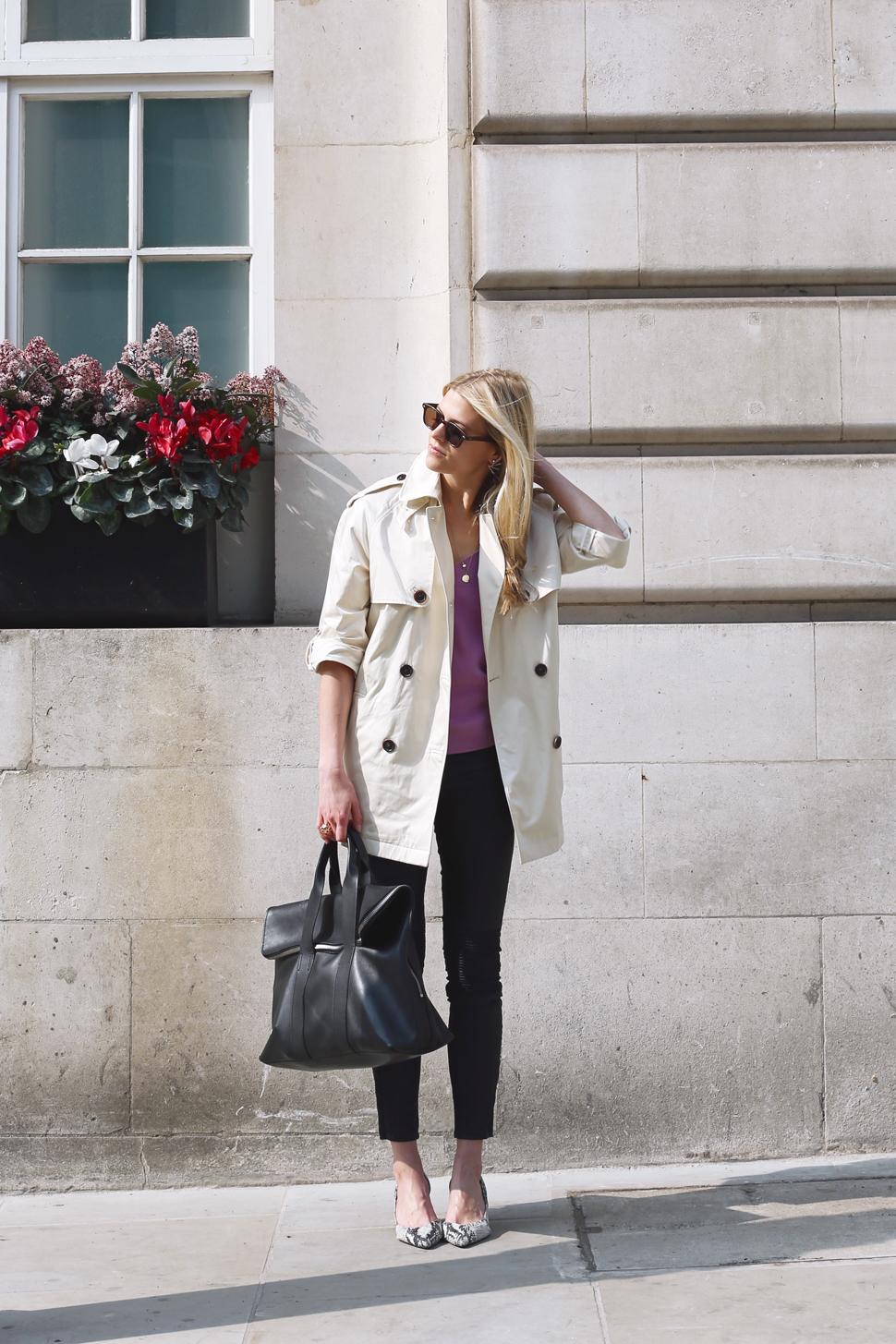 Anna Kerr wearing MARINA London