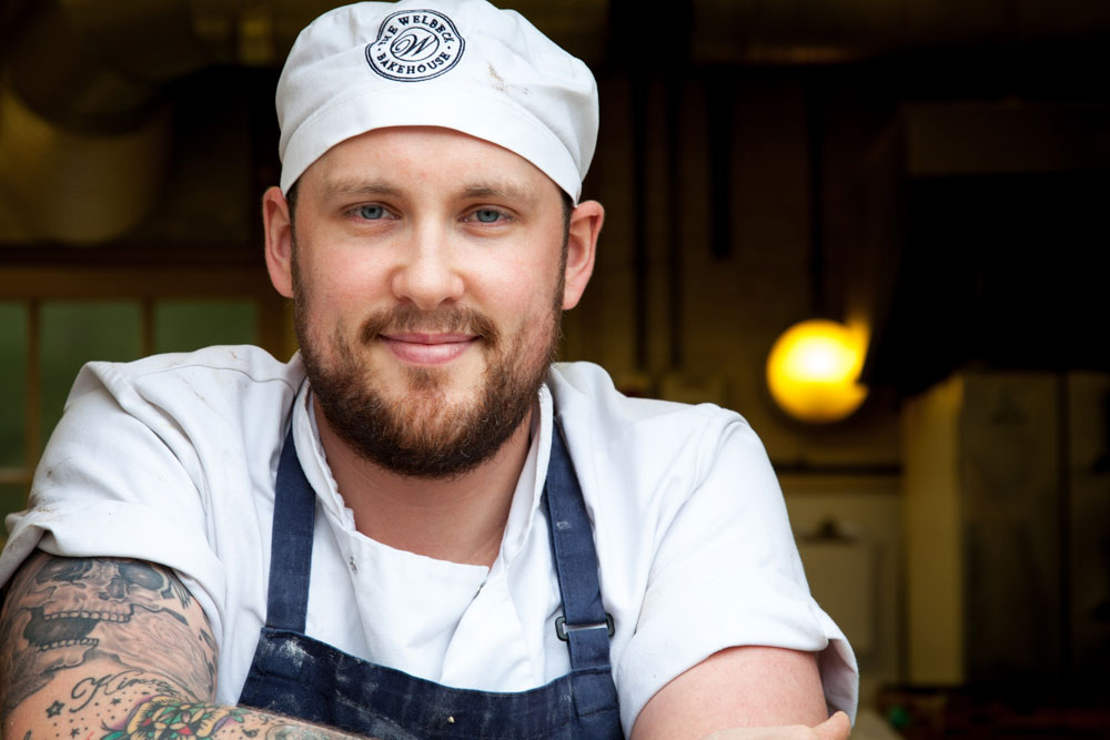 Brett Smith, Assistant Head Baker, Welbeck Bakehouse