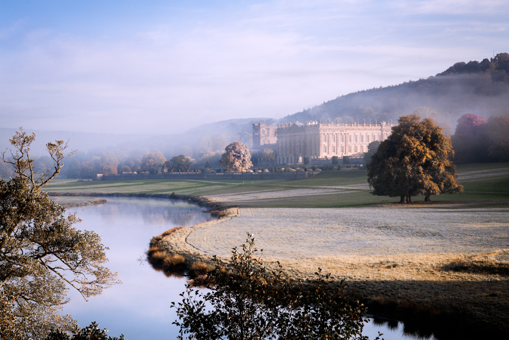 Chatsworth House. Finalist International Garden Photographer of the Year 2016