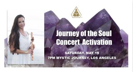 journey of the soulconcert activation - Los Angeles, Mystic Journey Crystals, 7PMMay 19