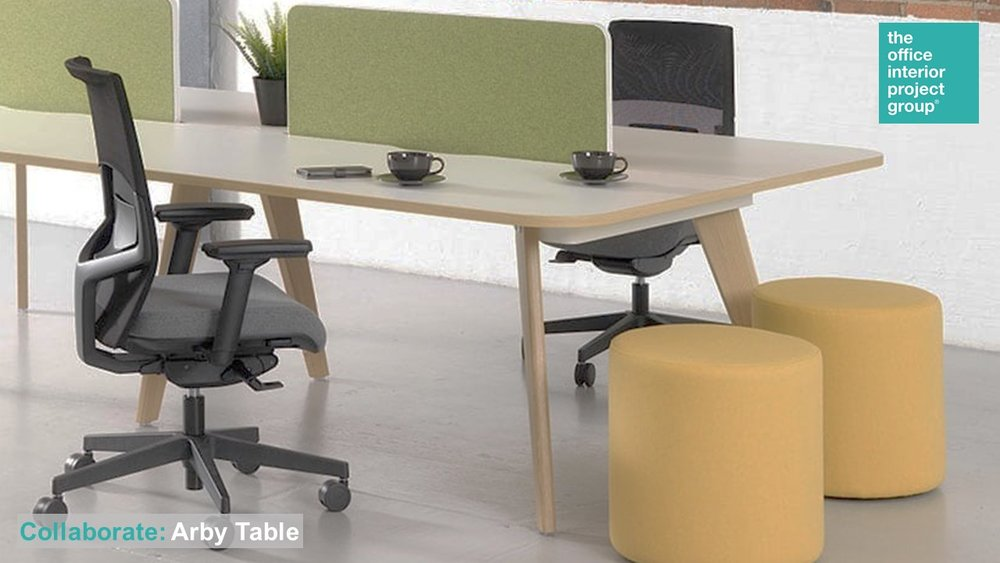 The Office Interior Project Group® Ad - Collaborate Arby Table.jpg